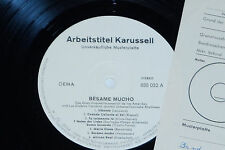 BESAME MUCHO - LP 1967 Karussell Promo Archiv-Copy mint