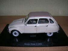 Atlas fabbri Citroën Dyane 6 año de fabricación modelo 1978 crema, 1:24