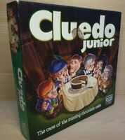 Hasbro Parker Cluedo Junior The Case Of The Missing Chocolate Cake  2003