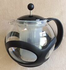 Bodum Kenya Tea Press Plastic Filter Black Frame And Handle 34oz Heat Resist