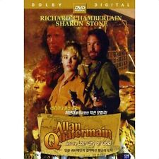 Allan Quatermain and the Lost City of Gold DVD / NO CASE (Only Cover & Disc)