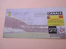 TICKET NANTES france v PORTO portugal 2001 football uefa cup billet