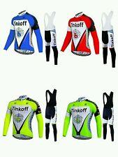 equipacion invierno saxo bank tinkoff 2017 maillot culotte mtb ciclismo btt