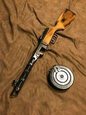 New listing Super Rare Hudson PPSH Full Metal Real Wood Model Gun from Japan