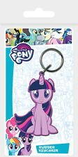 MY LITTLE PONY TWILIGHT SPARKLE RUBBER KEYRING NEW 100% OFFICIAL PYRAMID