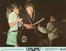 "Richard Burton, Joanna Shimkus ""Boom!"" vintage movie still"