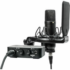 Rode Complete Studio Kit w/ AI-1 Interface, NT1 Microphone, Shock Mount *mint*