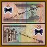 Dominican Republic 20 Pesos Oro, 2009 P-182 Polymer Unc