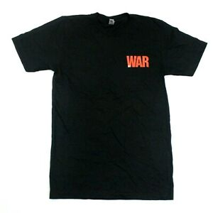 U2 War Logo Album Tee - American Apparel - Black - S