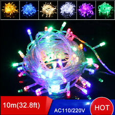 10m 50 LED Christmas Tree Fairy String Party Lights Garland Holiday Xmas Lamp