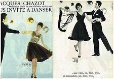 F- Coupure de presse Clipping 1961 (12 pages) Jacques Chazot  invite à danser
