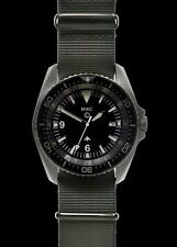 MWC Heavy Duty Military Divers Watch in Stainless Steel (24 Jewel Automatic)
