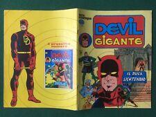 DEVIL GIGANTE n 3 Serie Cronologica Ed. Corno (1977) Fumetto