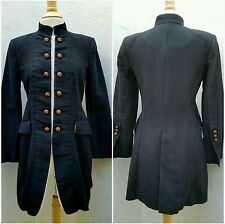 ZARA Women's M Vtg Victorian Equestrian Steampunk Cosplay Military Jacket Coat