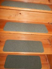 "14 Step Indoor Stair Treads Staircase Rug Carpet 8"" X 24"" + Landing 24'' x 24''."
