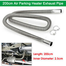 200cm Stainless Steel Air Parking Heater Exhaust Pipe Diesel Gas Vent Hose