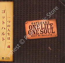 GOTTHARD ONE LIFE ONE SOUL: BEST OF BALLADS CD MINI LP OBI Steve Lee Leo Leoni