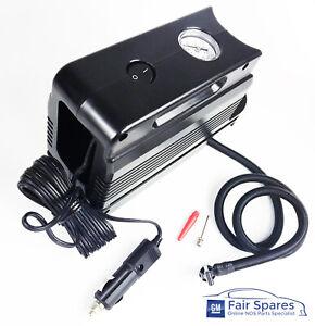 Genuine HSV Holden 12V Electric Mini Air Compressor Car Bike Tyre Tire Ball Pump
