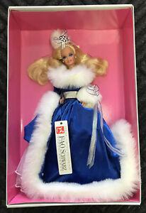 1990 Winter Fantasy Barbie Doll  #5946 NRFB Mattel FAO Schwarz Fifth Avenue