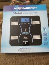 Weight Watchers Bluetooth Smart Scale & Body Analyzer - Black . New