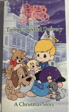 Precious Moments Presents Timmy's Special Delivery A Christmas Story Vhs-Tested