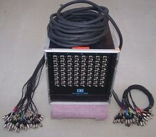CBI Star Performance 2000 56 Ch. Iso Audio Snake 150' To Mains, 60' To Monitors