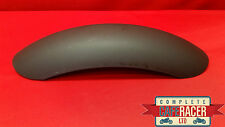 CRM7b STYLE CAFE RACER STAINLESS STEEL MUDGUARD - POWDER COATED MATTE BLACK
