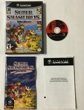 Super Smash Bros Melee Nintendo GameCube CIB Complete Game Cube TESTED WORKING