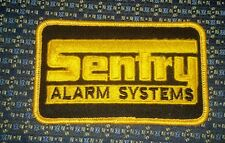SENTRY ALARM SYSTEMS Iron or Sew-On Patch