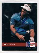 1992 Pro Set #62 Fred Funk  Auto