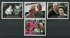 Falkland Islands 2017 MNH Queen Elizabeth II Platinum Wedding 4v Set Stamps