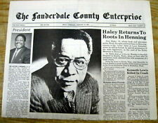 "Best 1992 newspaper ALEX HALEY DEAD  Author of ""Roots"" book on African-Americans"