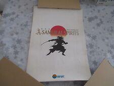 >> SHIN SAMURAI SPIRITS NEO GEO SNK CALENDAR OFFICIAL JAPAN IMPORT! <<
