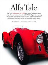 1938 Alfa Romeo 8C 2900 - Original Car Print Article J233