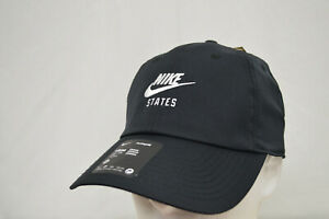 Nike Black United States USA Official Hat Cap Panel Adjustable CW6791-010 NWT