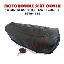 MOTORCYCLE SEAT COVER SUZUKI GS550 B/C GS750 A/B/C/N 1976-79 WITH STRAP