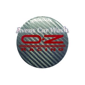 KIT 4 CAPS BADGE CENTER CAP OZ WHEELS 54mm NEW GENUINE 81310444 M582