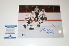 GORDIE HOWE SIGNED WHA 8X10 PHOTO WITH GRETZKY BECKETT AUTHENTICATED COA BAS