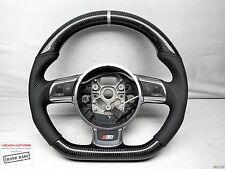 Audi TT TTS TTRS R8 R8GT RS6 RS3 Silver Ring Thicker CARBON DSG Steering WHEEL