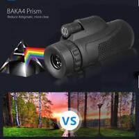 Monocular 40X60 Zoom Lens Telescope + Tripod + Clip For Mobile Phone Camera.