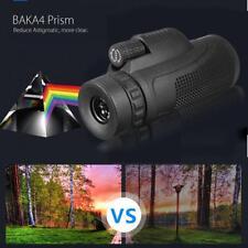 Monocular 40X60 Zoom Objektiv Teleskop + Stativ + Clip für Handy Kamera H6Q3