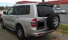 PAINTED ANY COLOR OE-LOOK TOP REAR SPOILER FOR 2001-2007 MITSUBISHI MONTERO SUV