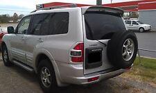 """UNPAINTED-PRIMER """"OE LOOK"""" TOP REAR SPOILER FOR 2001-2007 MITSUBISHI MONTERO SUV"""