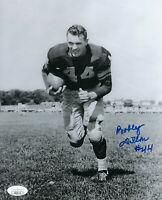1950's PACKERS Bobby Dillon signed photo 8x10 JSA COA AUTO Autographed Green Bay