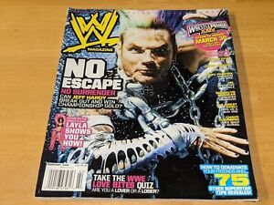 JEFF HARDY WWE MAGAZINE Wrestling February 2008 Issue Layla/Chris Jericho/JBL+