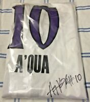 AUTOGRAPHED Sacramento Monarchs Jersey A'Quonesia Franklin Large Basketball WNBA