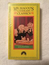 Mr. Magoos Literary Classics 1 - Little Snow White (NEW SEALED VHS) VERY RARE!
