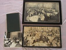 2 framed large B/W photos: Fordham Alumni /American Neurological Assoc.w/book