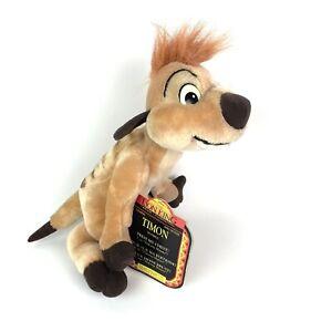 Timon Plush Disney's Lion King Mattel 1995 With Original Tag On - No Sound