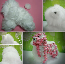 Dog Model, Dog Mannequin + Dog Wig for Wrapping Grooming Practice, Training